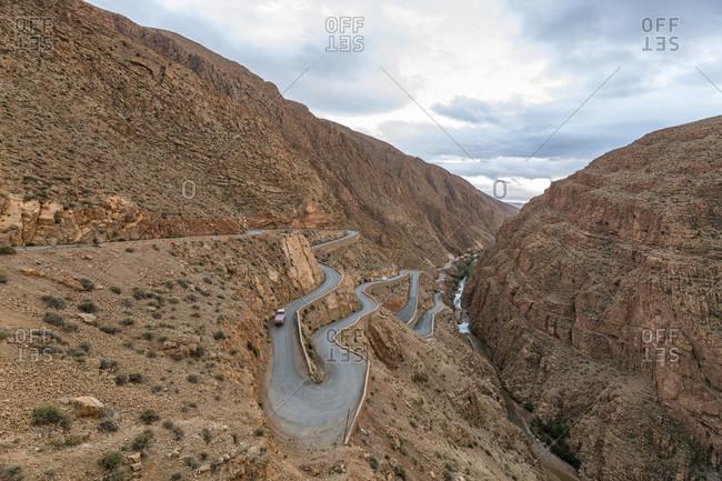 Dades Valley and Dades Gorge, Central Morocco, Morocco