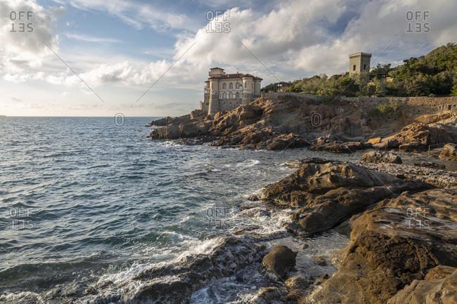 Castel Boccale in Livorno, Italy