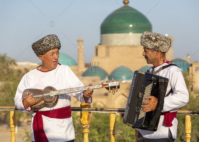 August 27, 2019: Folklore Show, Old Town, Chiva, Uzbekistan