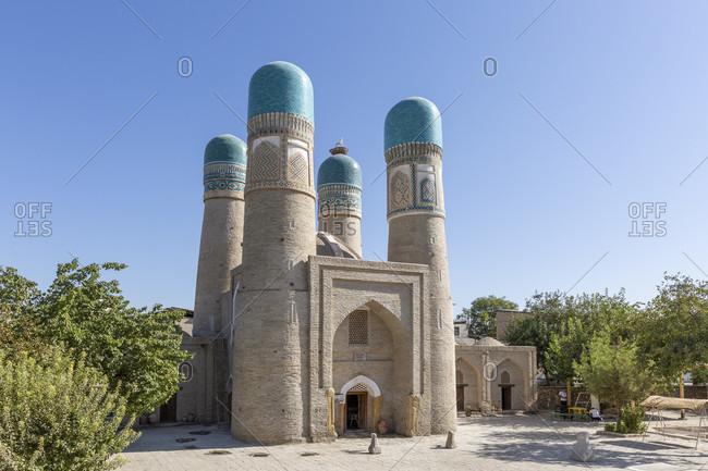 August 25, 2019: Choir Minor Mosque, Bukhara, Uzbekistan