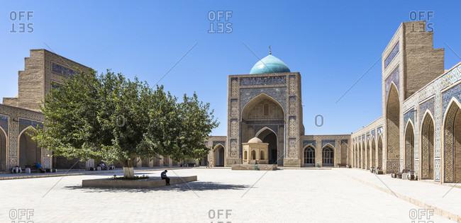 August 24, 2019: Poikalon complex, Bukhara, Uzbekistan