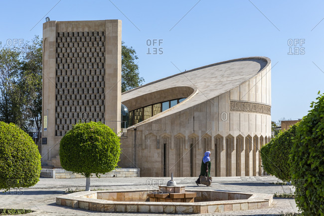 August 24, 2019: Imam Al-Bukhari complex, Bukhara, Uzbekistan