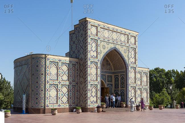 August 23, 2019: Ulugh Beg Observatory, Samarkand, Uzbekistan
