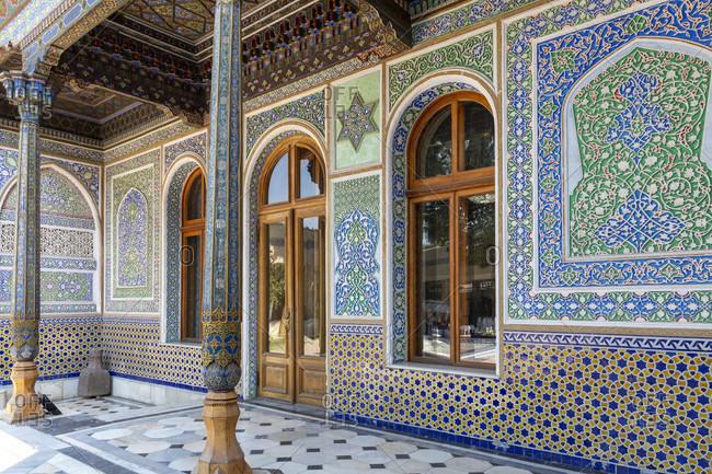 August 20, 2019: Museum of Applied Arts, Tashkent, Uzbekistan