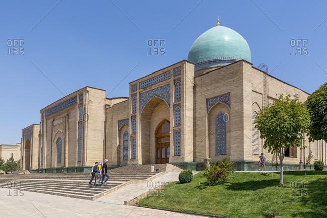August 20, 2019: Khast Imam complex, Tashkent, Uzbekistan
