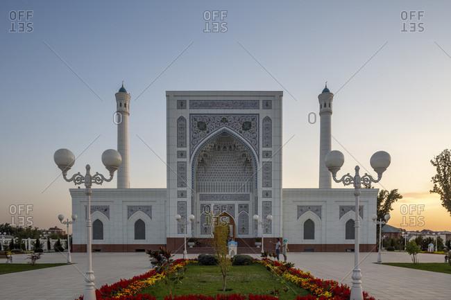 August 19, 2019: Minor Mosque, Tashkent, Uzbekistan