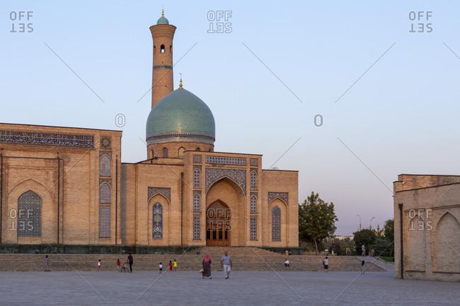 August 18, 2019: Khast Imam complex, Tashkent, Uzbekistan