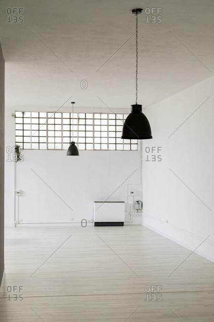 Interior of empty office room