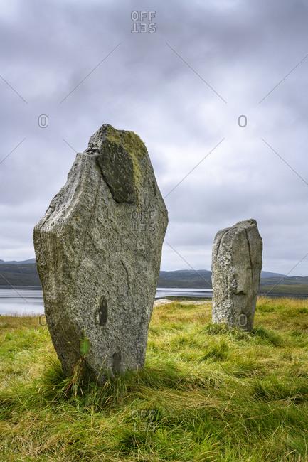 UK- Scotland- Callanish-CallanishStones onIsle of Lewis