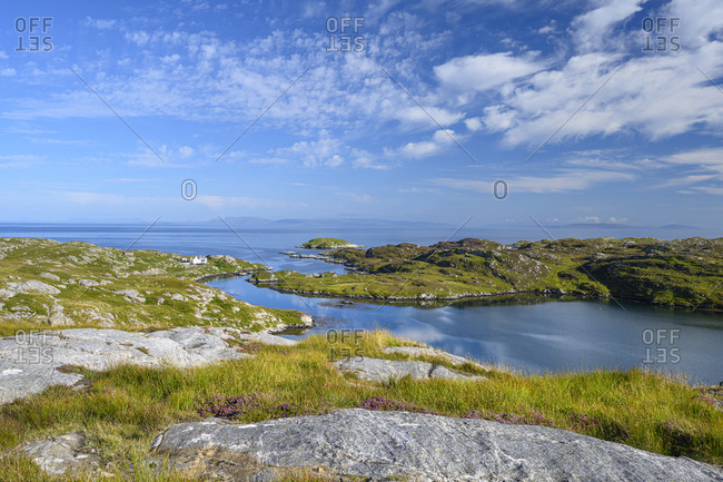 Loch Flodabay in the summer