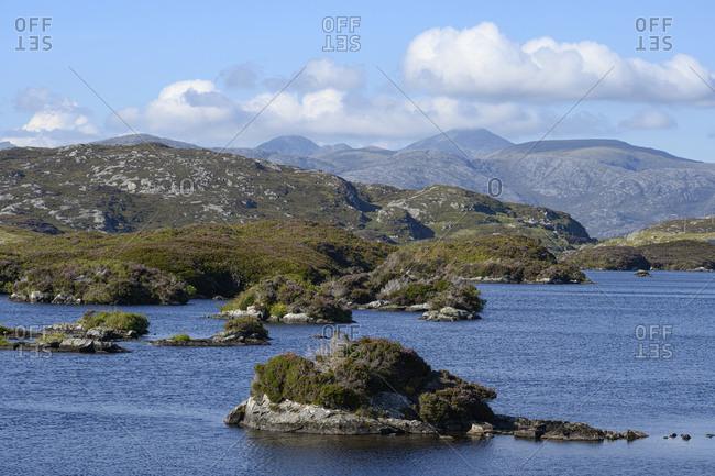 UK- Scotland- Coastline of Isle of Harris