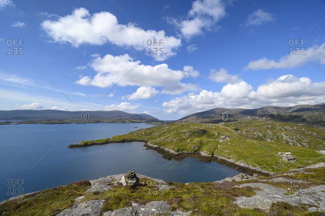 UK- Scotland- Scenic view of Loch Tarbert