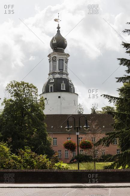 Germany- Lower Saxony- Jever- Jever Castle in spring