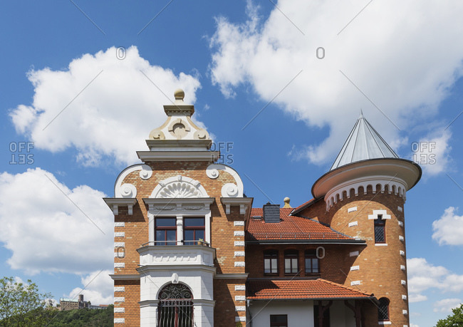 Germany- Thuringia- Eisenach- Historical villa in Marienhohe quarter