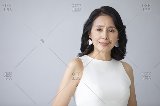 A confident mature Chinese woman