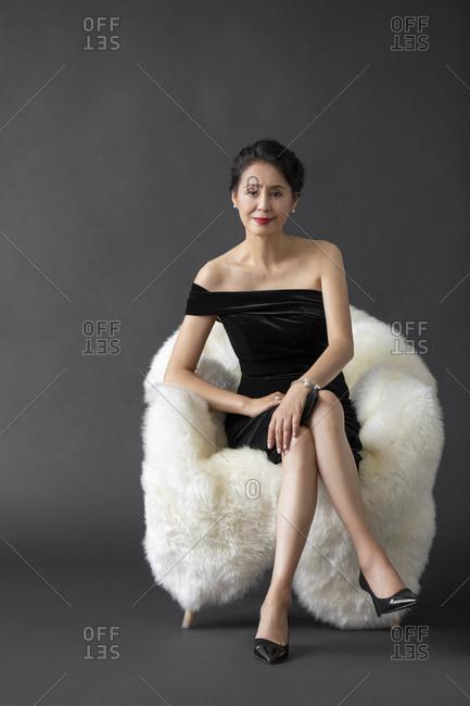 A beautiful mature Chinese woman