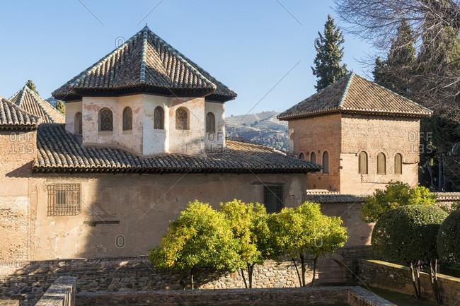 Granada (Spain), alhambra, entrada partal