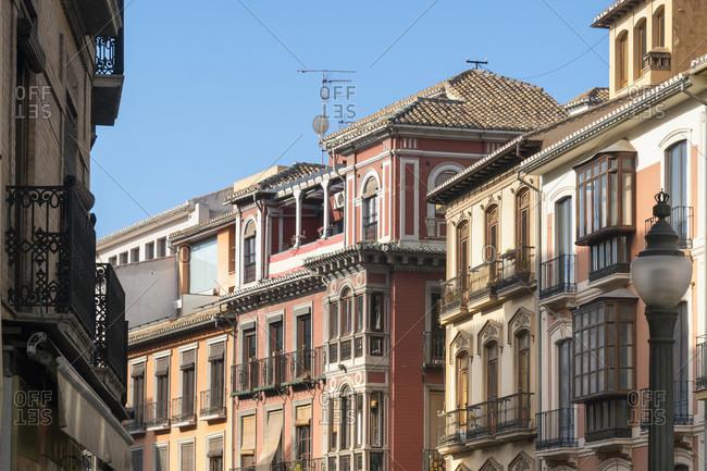Granada (Spain), reyes catolicos, facades