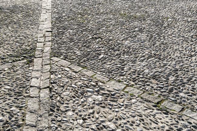 Spain, Granada, albaicin, historic district, pavement