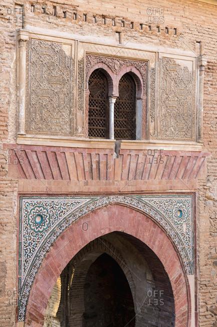 Spain, Granada, alhambra, puerta del vino