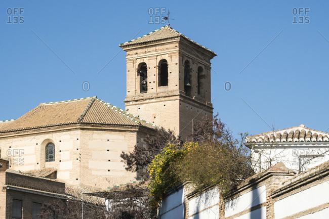 Granada (Spain), albaicin district, iglesia san salvador