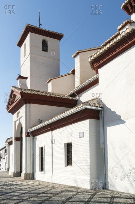 Granada (Spain), albaicin district, iglesia san nicolas