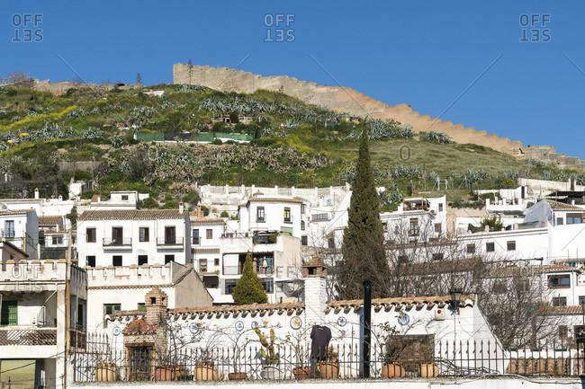 Granada (Spain), sacromonte district, arab city walls