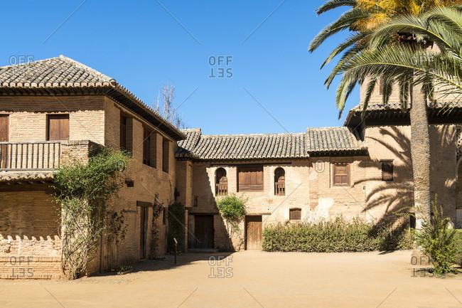 Spain, Granada, alhambra, partal, palacio del partal