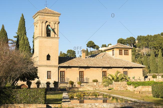 Spain, Granada, alhambra, hotel, parador san francisco