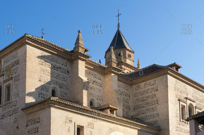 Granada (spain), alhambra, iglesia de santa maria de alhambra