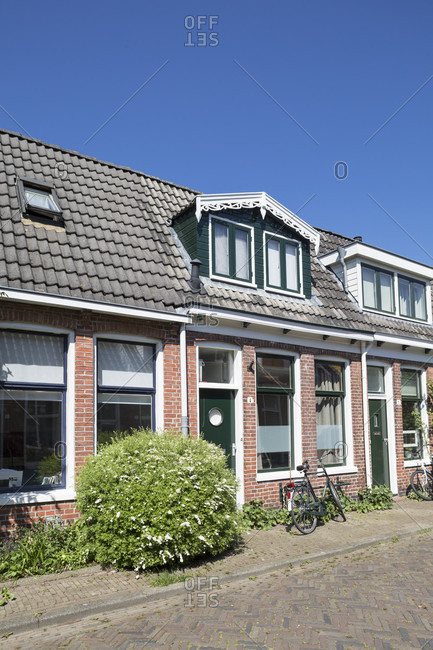 House in the northern part of groningen, the netherlands