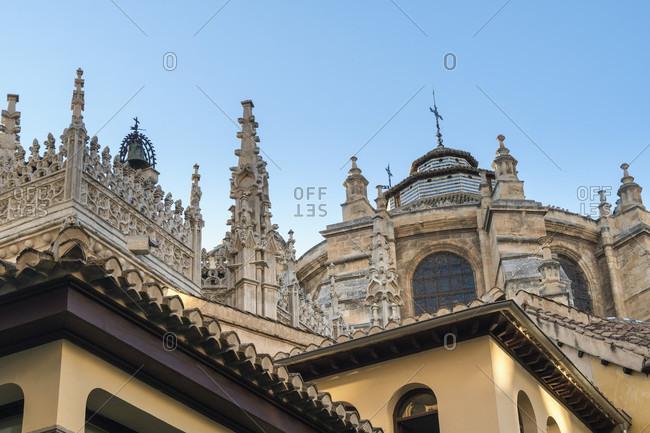 Granada (spain), old town, cathedral Santa maria de la encarnacion