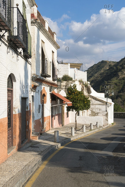 Spain, granada, sacromonte, historic district, camino del sacromonte, hiking trail
