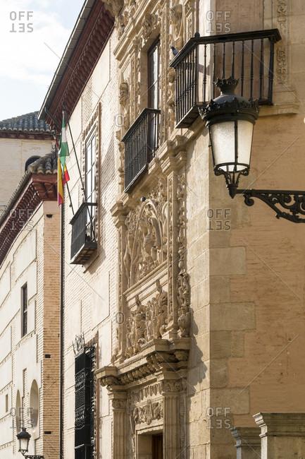 Spain, granada, albaicin, carrera del darro, museo arqueologico, casa de castril