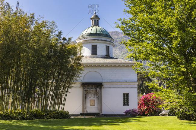 Chapel of villa melzi, bellagio, lake como, province of lecco, lombardy, italy