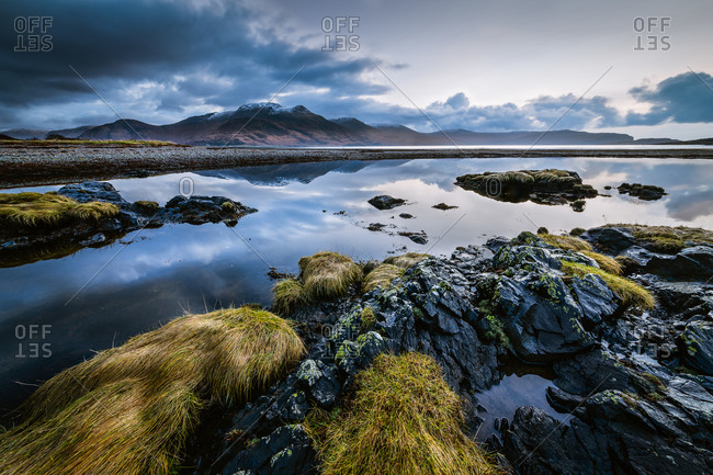 Still landscape on the isle of mull