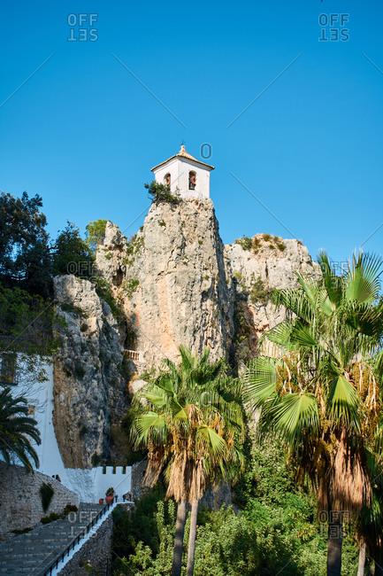 """Castell de Guadalest"", historical monument of Alicante, Spain"