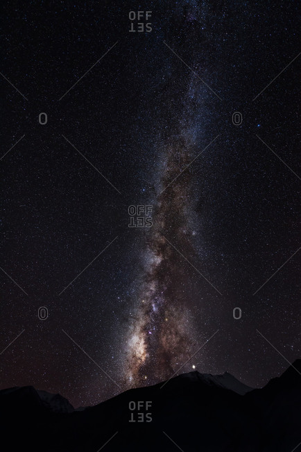 Tibet galaxy star - Photo from the Offset Collection