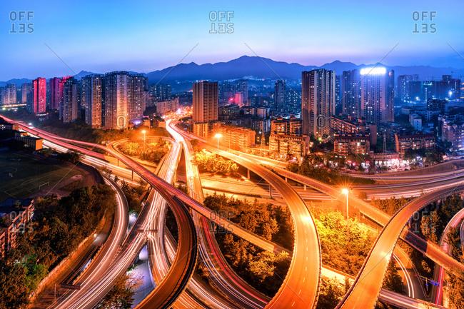 Chongqing urban architectureyang gong bridge