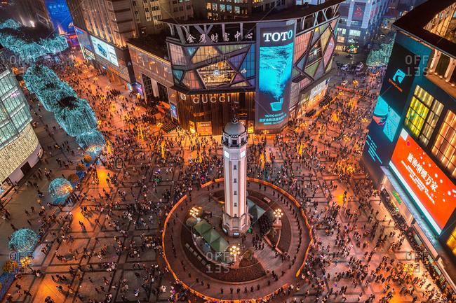 November 6, 2020: chongqing urban architecturehere