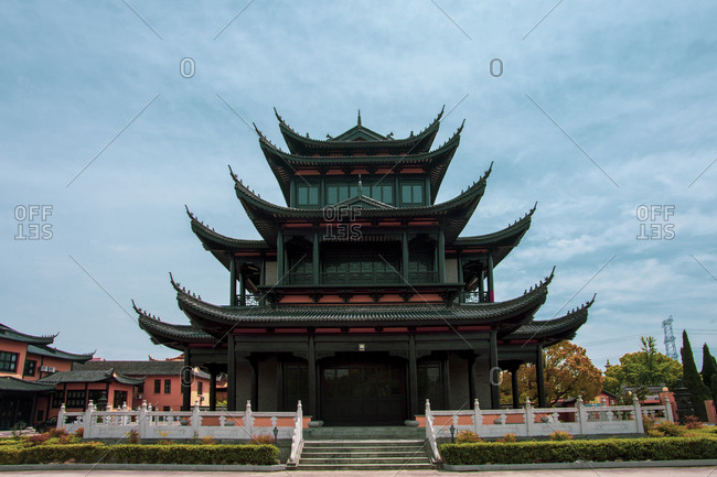 Jiangsu nantong tongzhou district west temple