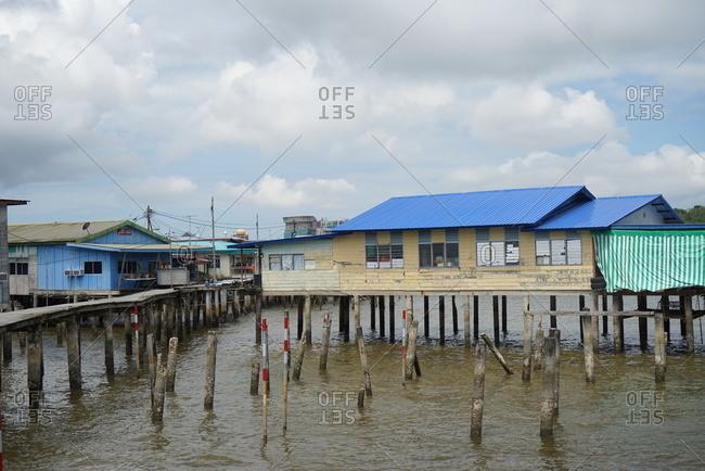 January 1, 2013: brunei water village