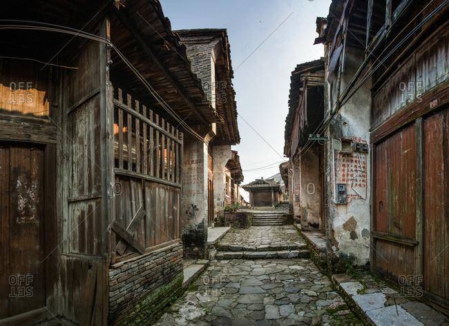 September 17, 2015: guangxi qinzhou ling chuan county with big fair male village