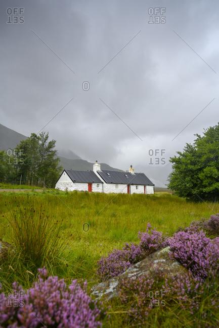Black Rock Cottagein Scottish Highlands