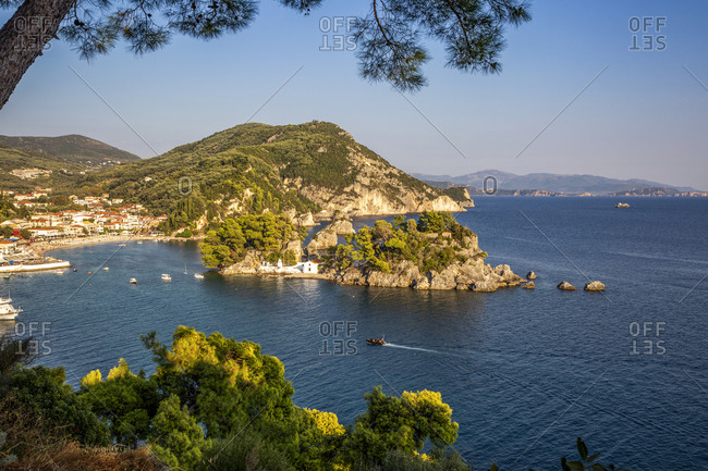 Greece- Preveza- Parga-PanagiaChapel in summer