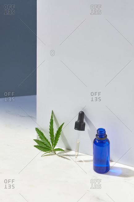 CBD oil made from natural marijuana ingredients.