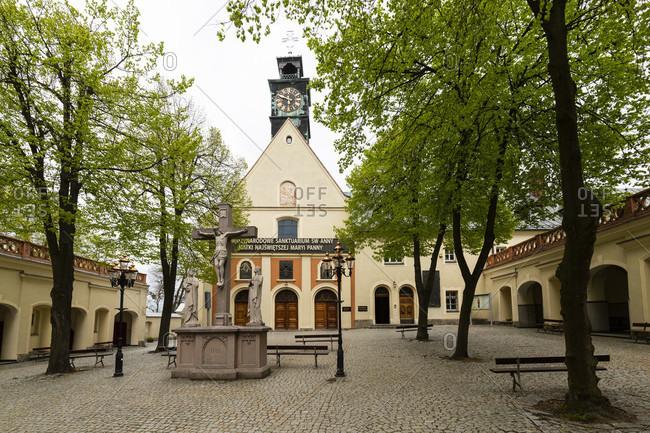 May 6, 2020: Europe, Poland, Gora Swietej Anny - St. Anna-Berg - St. Anne Mountain