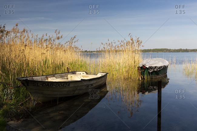 May 8, 2020: Europe, Poland, Silesian Voivodeship, Pogoria lakes - Dabrowa Gornicza