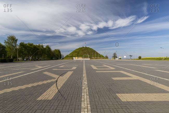 Europe, Poland, Silesian Voivodeship, Piekary Slaskie - Deutsch Piekar - Kopiec Wyzwolenia - Liberation Mound