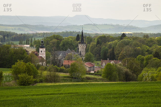 Europe, Poland, Lower Silesia, Bozkow - Eckersdorf
